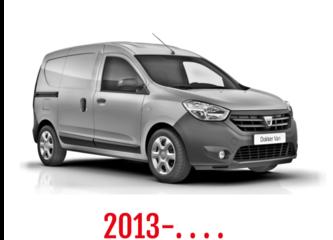 Dacia Dokker Van Schuifdeurbeveiliging 2013-. . . .