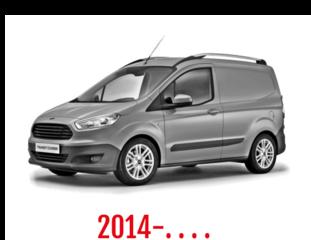 Ford Transit Courier Schuifdeurbeveiliging 2014-. . . .