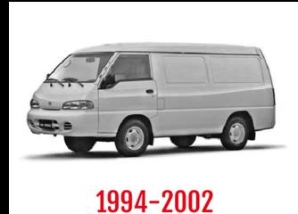 Hyundai H100 Schuifdeurbeveiliging 1994-2002