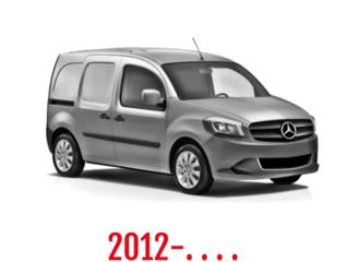 Mercedes Citan Schuifdeurbeveiliging 2012-. . . .