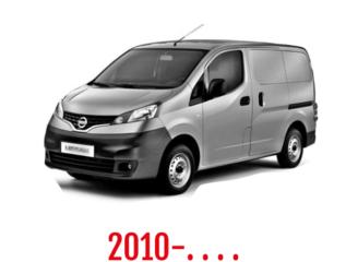 Nissan NV200 Schuifdeurbeveiliging 2010-. . . .