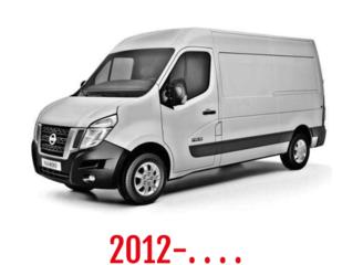 Nissan NV400 Schuifdeurbeveiliging 2012-. . . .