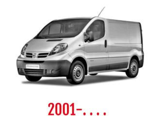 Nissan Primastar Schuifdeurbeveiliging 2001-. . . .
