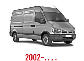 Nissan Interstar Schuifdeurbeveiliging 2002-. . . .