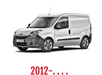 Opel Combo Schuifdeurbeveiliging 2012-. . . .