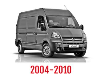 Opel Movano Schuifdeurbeveiliging 2004-2010