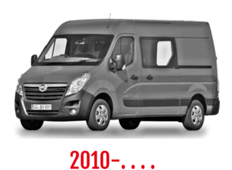 Opel Movano Schuifdeurbeveiliging 2010-. . . .