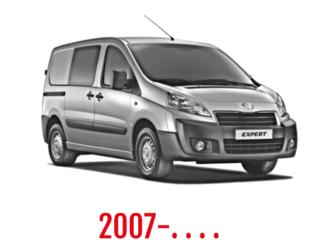 Peugeot Expert Schuifdeurbeveiliging 2007-. . . .