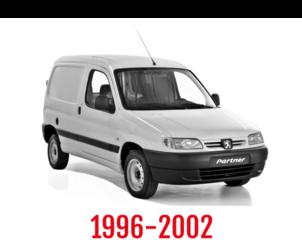 Peugeot Partner Schuifdeurbeveiliging 1996-2002