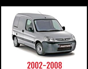 Peugeot Partner Schuifdeurbeveiliging 2002-2008
