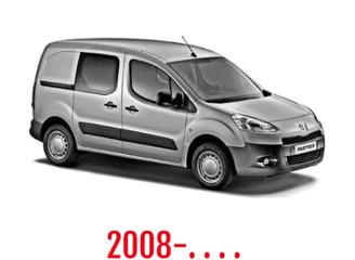 Peugeot Partner Schuifdeurbeveiliging 2008-. . . .
