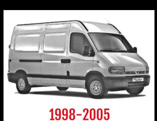 Renault Master Schuifdeurbeveiliging 1998-2005