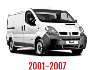 Renault Traffic Schuifdeurbeveiliging 2001-2007
