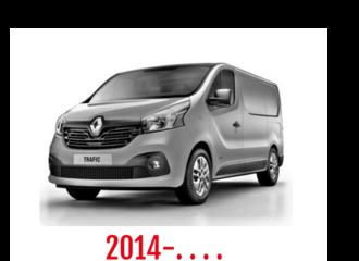 Renault Traffic Schuifdeurbeveiliging 2014-. . . .