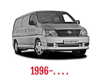 Toyota HiAce Schuifdeurbeveiliging 1996-. . . .