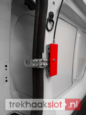 Nissan NV400 2012-. . . . Schuifdeurbeveiliging Carbolt 101 voor 1 schuifdeur