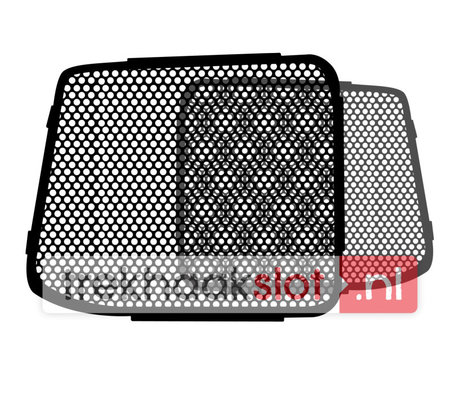 Raamroosters Volkswagen Transporter achterdeuren set 2003-2010