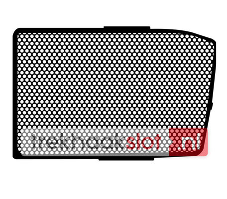 Raamrooster Opel Vivaro zijdeur 2002-2014