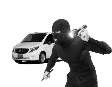 Carbolt 103 Laadruimtebeveiliging Mercedes Vito 2014-. . . .